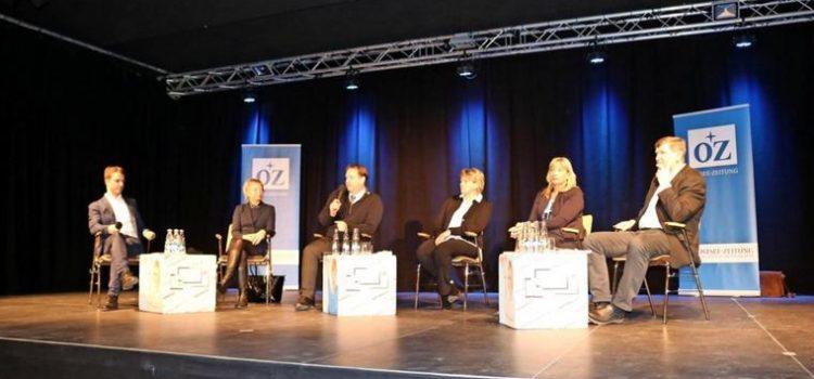 Kandidatenforum der Ostseezeitung im Begenungszentrum